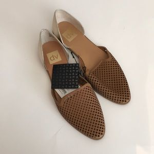 DV Paige Perforated Flat NWT